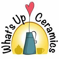 What's Up Ceramics logo