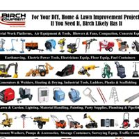 Birch Equipment Rental & Sales logo