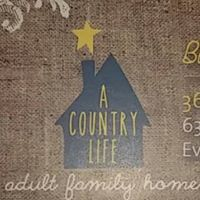 A Country Life Adult Family Home logo