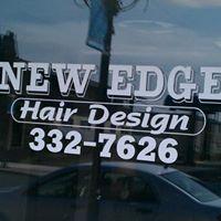 New Edge Hair Design logo