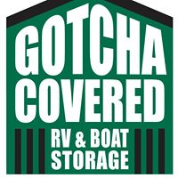 Gotcha Covered RV & Boat Storage logo
