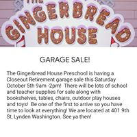Gingerbread House Pre-School Kindergarten logo
