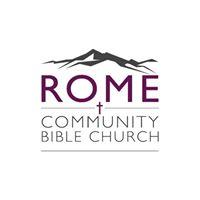 Rome Community Bible Church logo