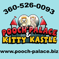 Pooch Palace & Kitty Kastle logo