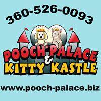 Pooch Palace & Kitty Kastle logo