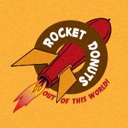 Rocket Donuts logo