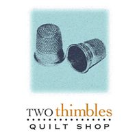 Two Thimbles Quilt Shop logo