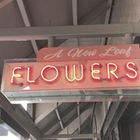 A New Leaf Flower Shoppe logo