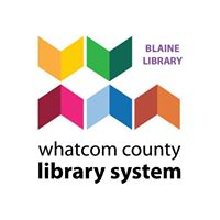 Blaine Library logo