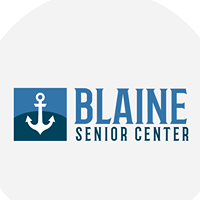 Blaine Senior Center logo