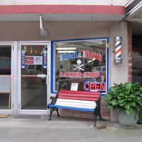 Talk of the Town Barber Shop logo