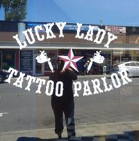 Lucky Lady Tattoo logo