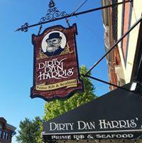 Dirty Dan Harris Steakhouse logo
