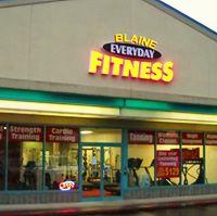 Blaine Everyday Fitness logo