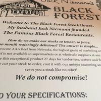 Black Forest Steak House logo