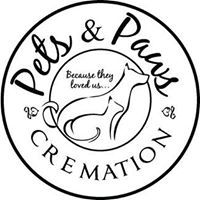 Pets & Paws Cremation logo