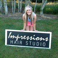 Impressions Hair Studio logo