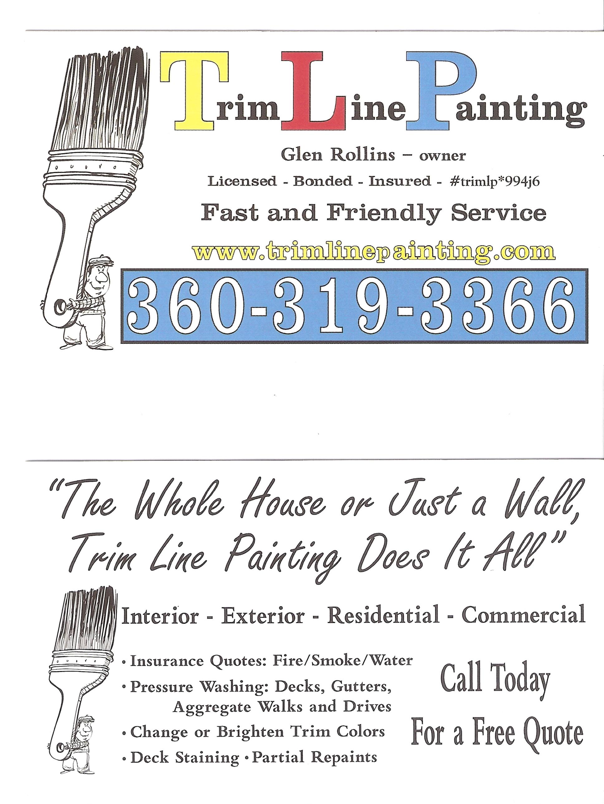 Trim Line Painting logo