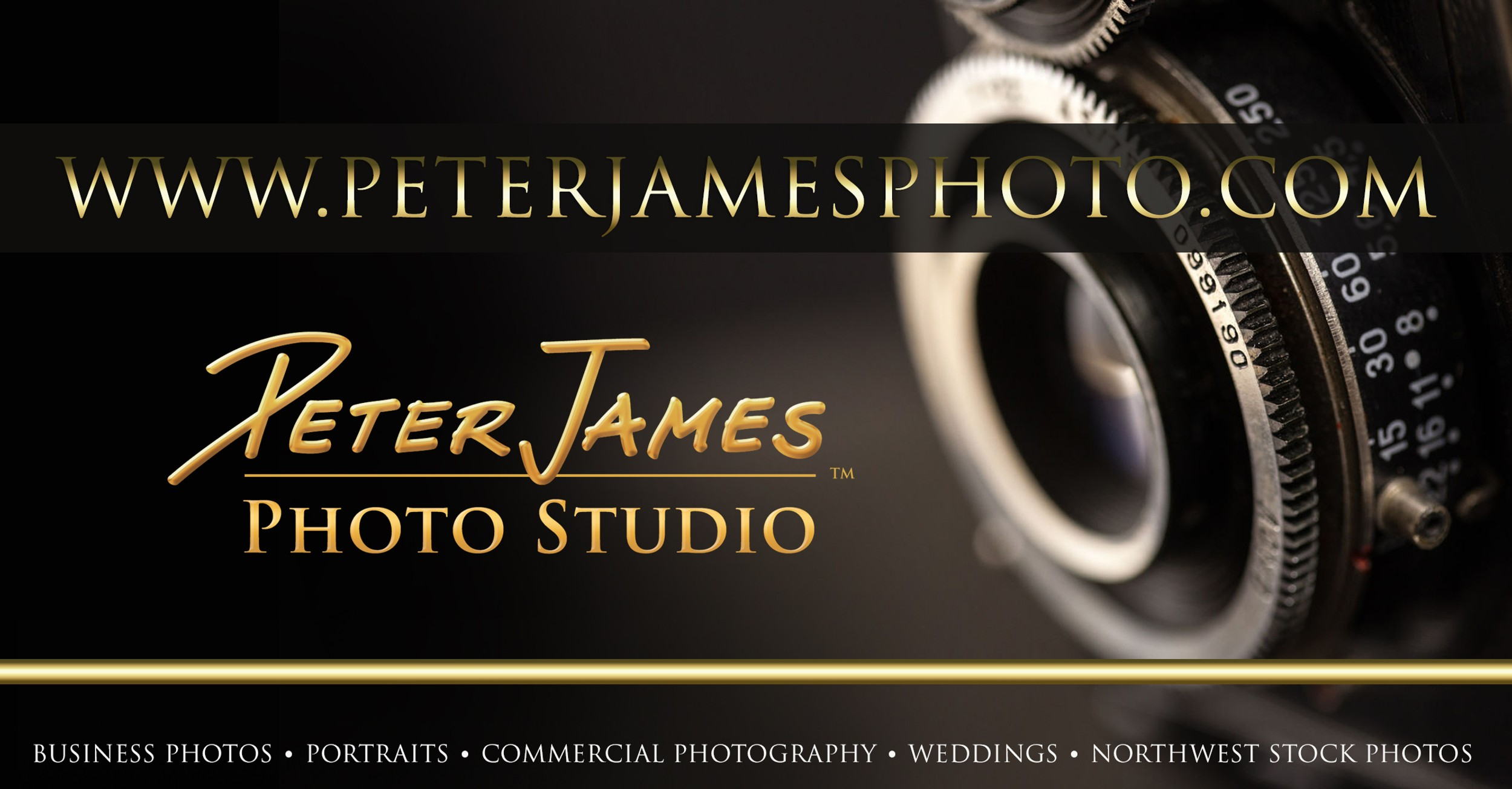 Peter James Photography Studio logo