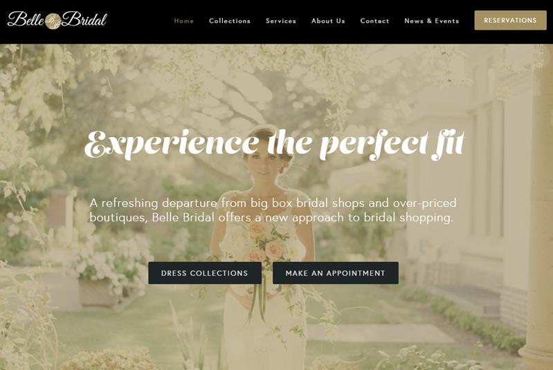 Belle Bridal & Formal Shoppe logo