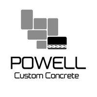 Powell Custom Concrete logo