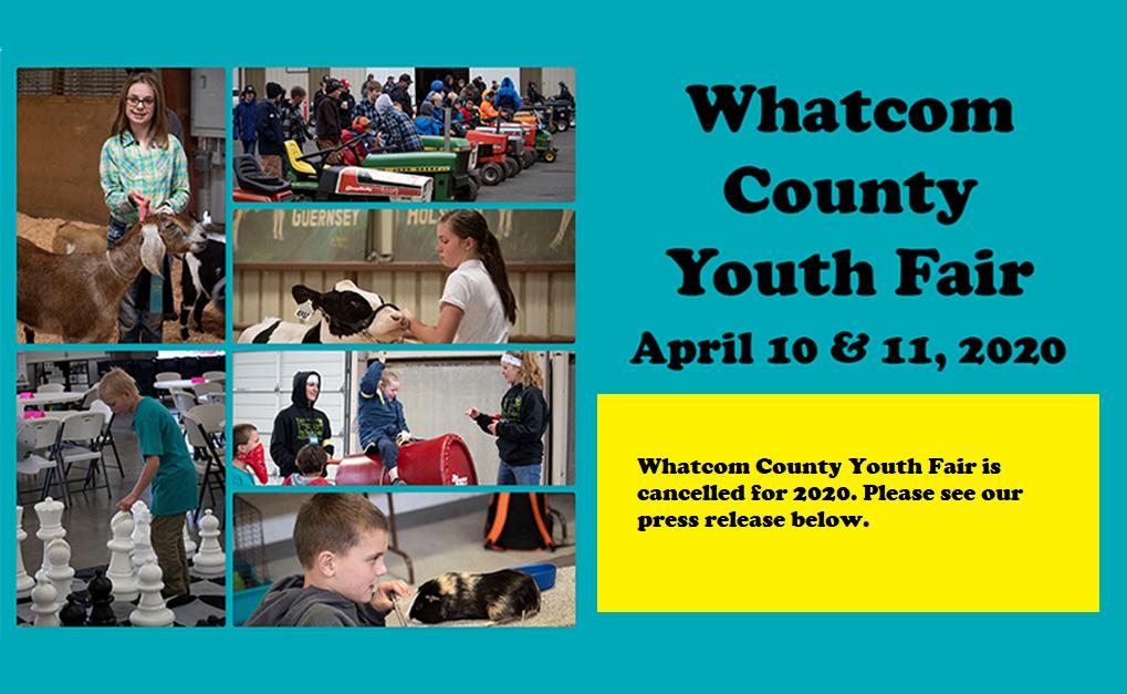 Whatcom County Youth Fair 2018 logo