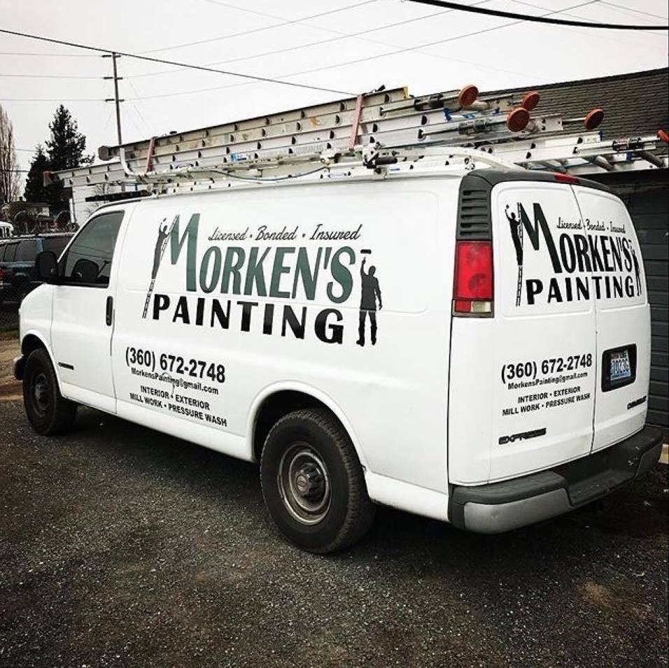 Morken's Painting logo