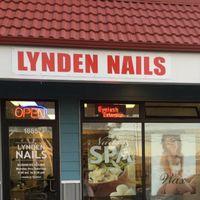 Lynden Nails logo