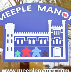 Meeple Manor logo