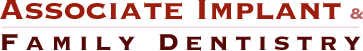 Associate Implant & Family Dentistry logo