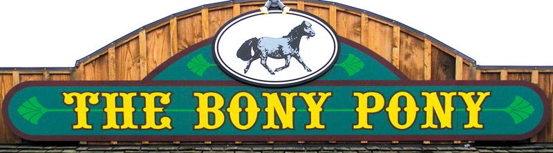 Bony Pony The logo