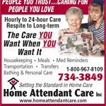 Home Attendant Care Inc logo