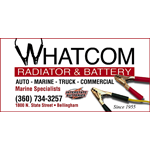 Whatcom Radiator & Battery logo