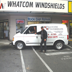 Whatcom Windshields logo