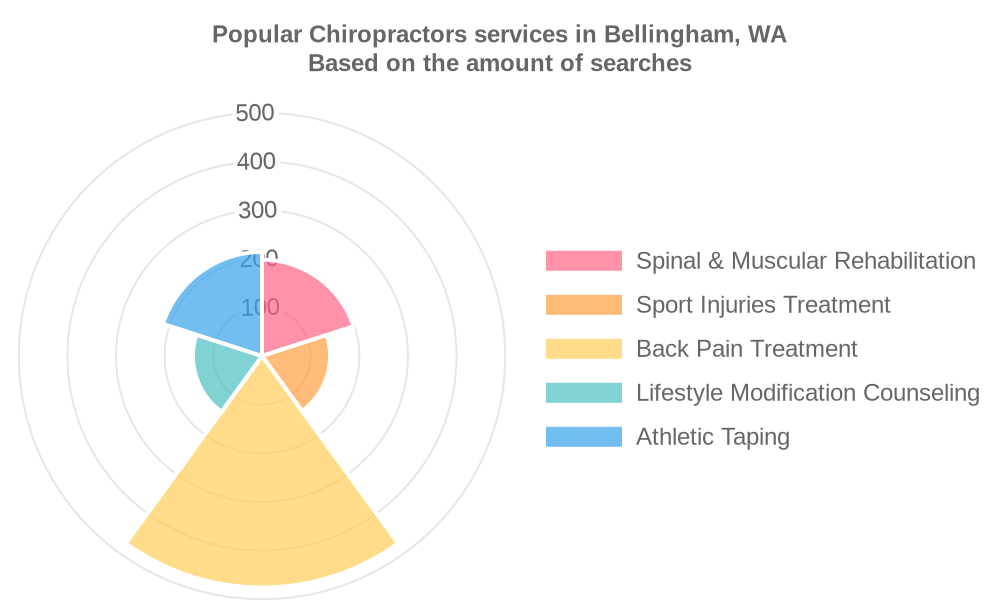 Popular services provided by chiropractors in Bellingham, WA