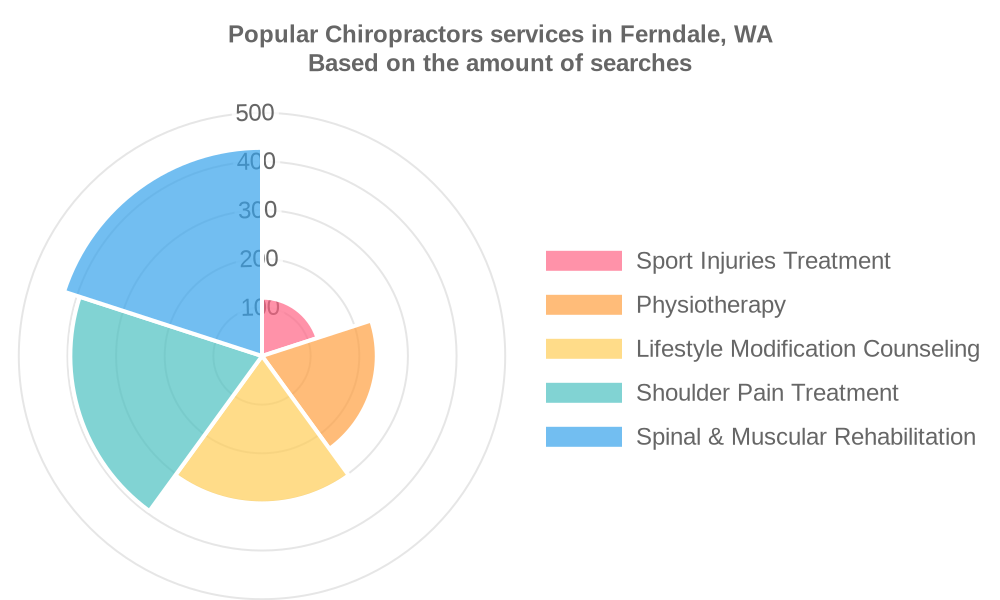 Popular services provided by chiropractors in Ferndale, WA