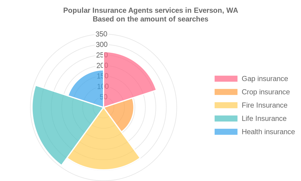 Popular services provided by insurance agents in Everson, WA
