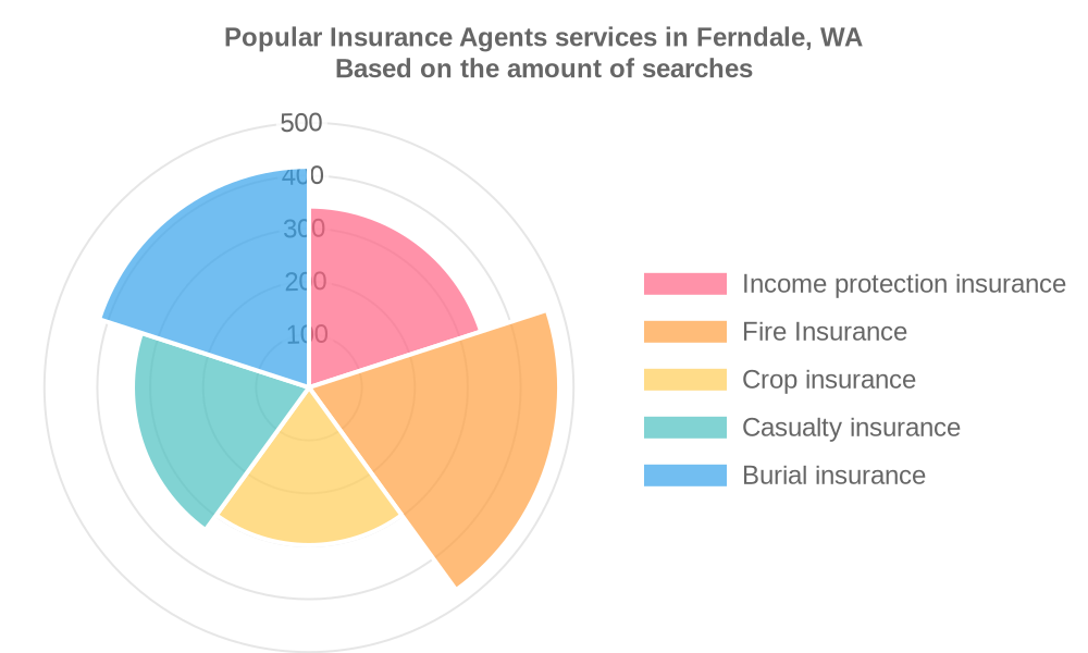 Popular services provided by insurance agents in Ferndale, WA