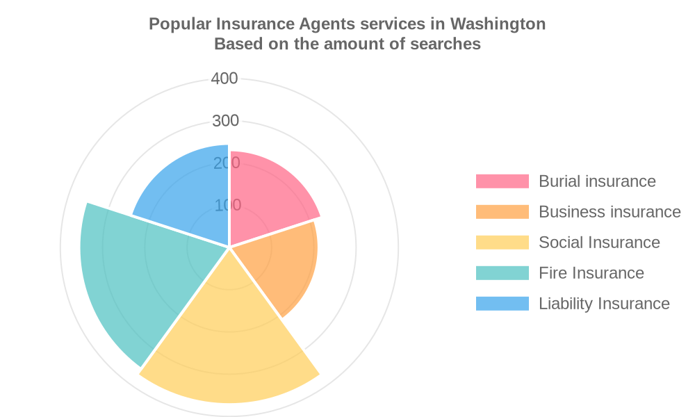 Popular services provided by insurance agents in Washington