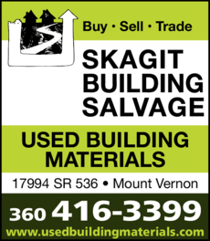 Yellow Pages Ad of Skagit Building Salvage