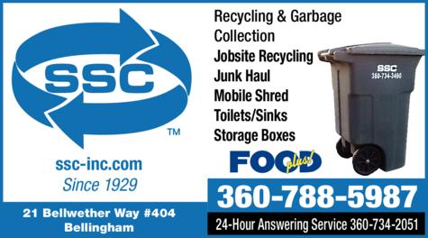 Print Ad of Sanitary Service Company