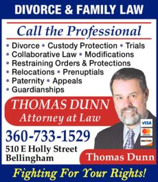 Print Ad of Dunn Thomas Atty