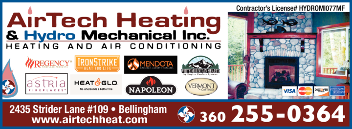 Print Ad of Airtech Heating & Hydro Mechanical Inc