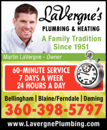 Print Ad of Lavergne's Plumbing & Heating