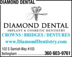 Print Ad of Diamond Dental
