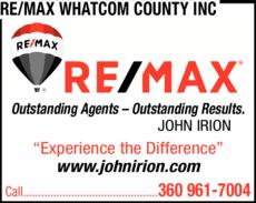 Print Ad of Re/Max Whatcom County Inc