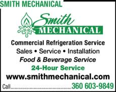 Print Ad of Smith Mechanical