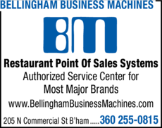 Print Ad of Bellingham Business Machines