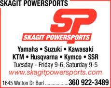 Yellow Pages Ad of Skagit Powersports