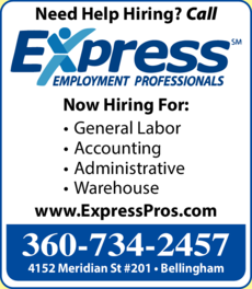 Yellow Pages Ad of Express Employment Professionals